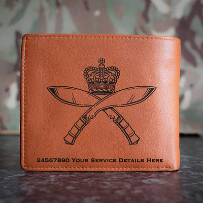 Royal Gurkha Rifles Leather Wallet