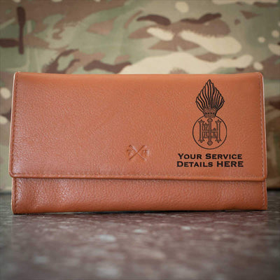 Royal Highland Fusiliers Leather Purse