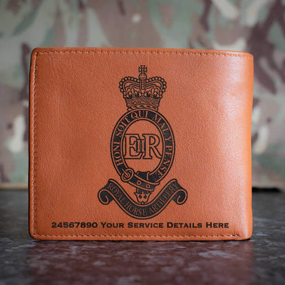 Royal Horse Artillery Leather Wallet