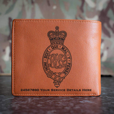 Royal Horse Guards Leather Wallet