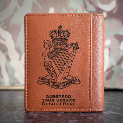 Royal Irish Rangers Credit Card Wallet