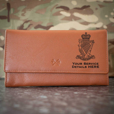Royal Irish Rangers Leather Purse