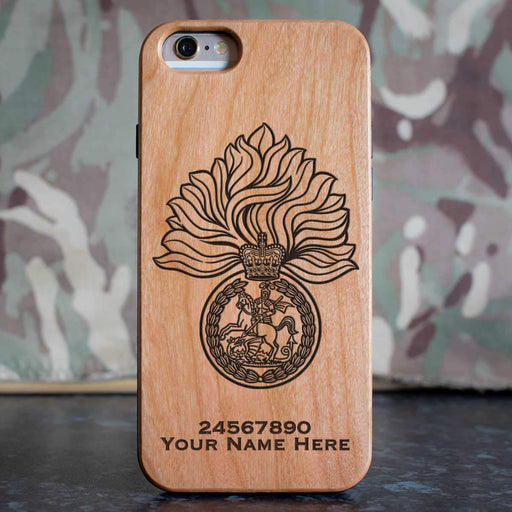 Royal Regiment of Fusiliers Phone Case