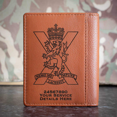 Royal Regiment of Scotland Credit Card Wallet