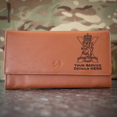 Royal Regiment of Scotland Leather Purse