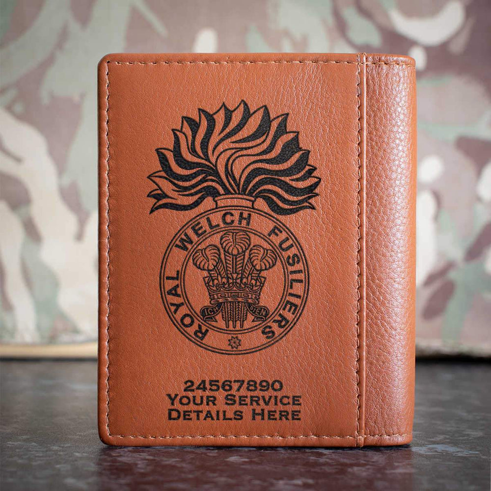 Royal Welch Fusiliers Credit Card Wallet