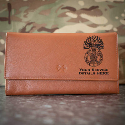 Royal Welch Fusiliers Leather Purse