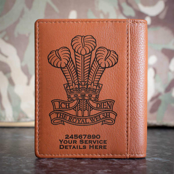 Royal Welsh Credit Card Wallet