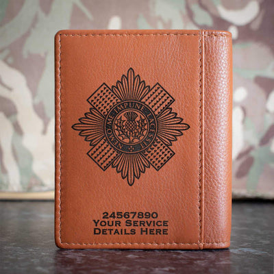 Scots Guards Credit Card Wallet