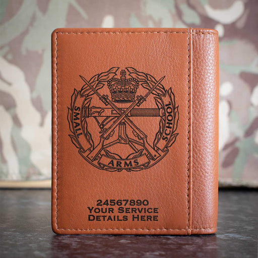 Small Arms School Credit Card Wallet