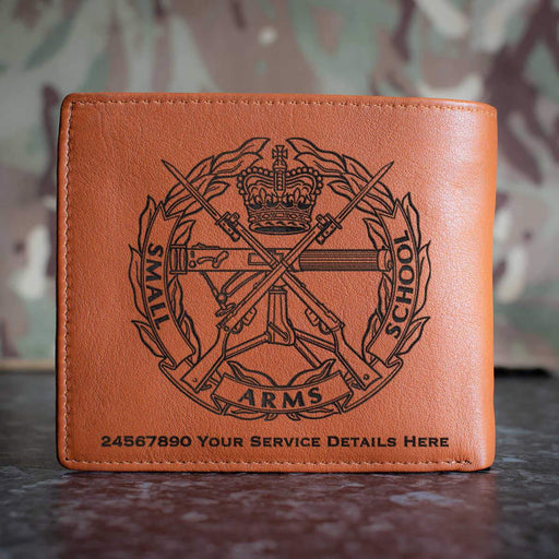 Small Arms School Leather Wallet