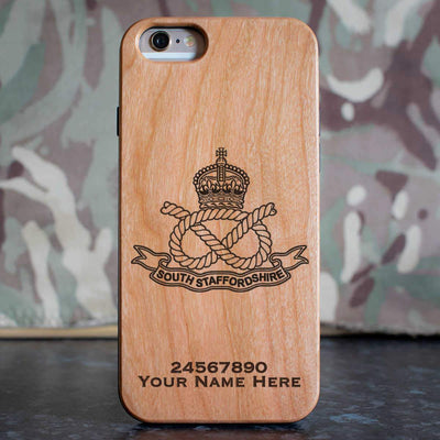 South Staffordshire Regiment Phone Case