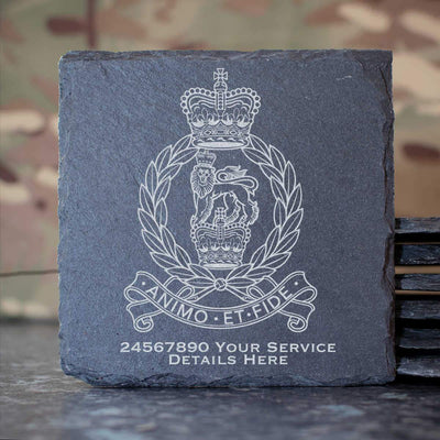 Staff and Personnel Support Branch Slate Coaster