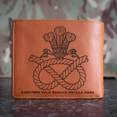 Staffordshire Regiment (POW) Leather Wallet