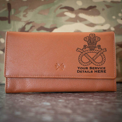 Staffordshire Regiment (POW) Leather Purse