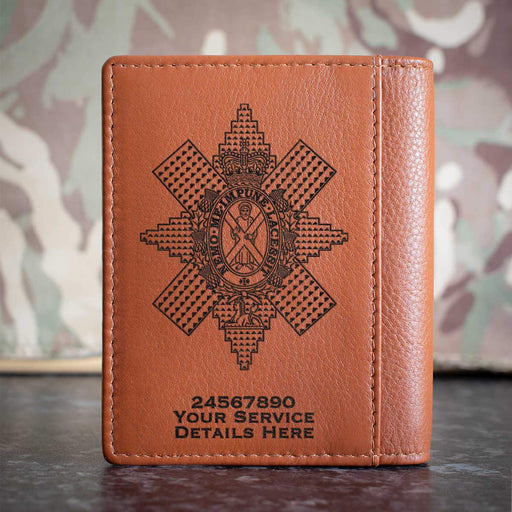 Black Watch Credit Card Wallet