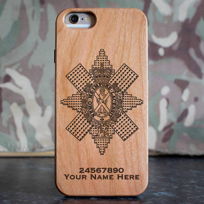 Black Watch Phone Case