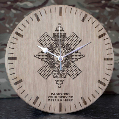 Black Watch Oak Clock