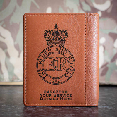 Blues and Royals Credit Card Wallet