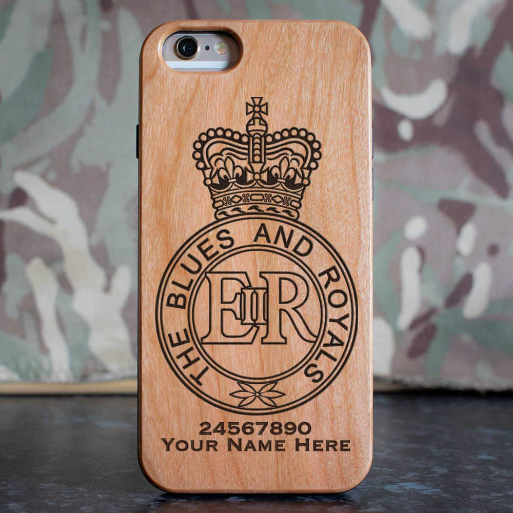 Blues and Royals Phone Case