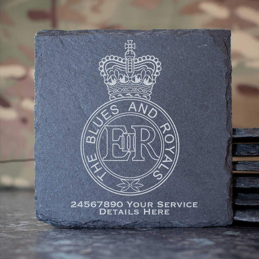 Blues and Royals Slate Coaster