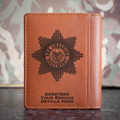 Cheshire Regiment Credit Card Wallet