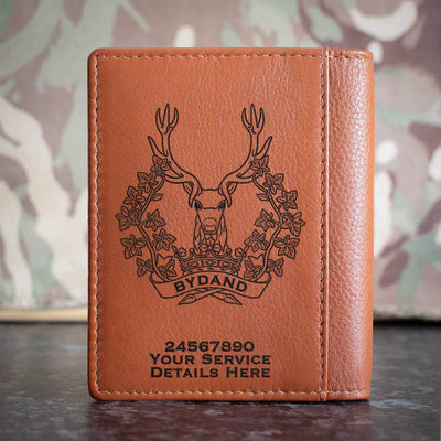 Gordon Highlanders Credit Card Wallet