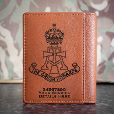 Green Howards Credit Card Wallet