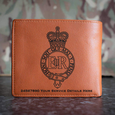 The Household Cavalry Leather Wallet