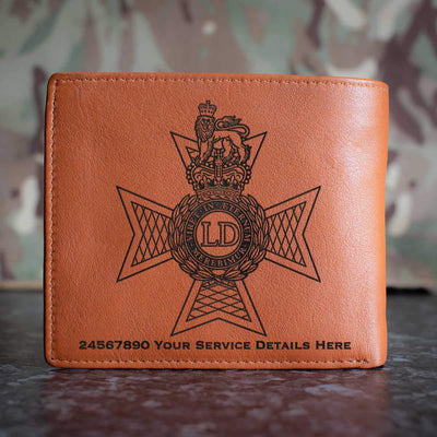 Light Dragoons Leather Wallet