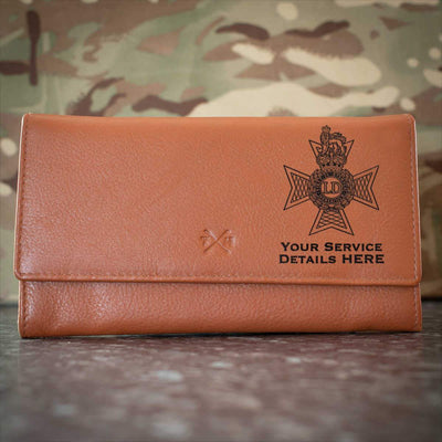 Light Dragoons Leather Purse