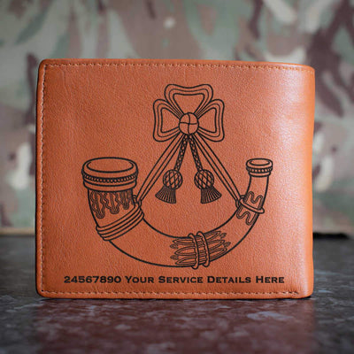 Light Infantry Leather Wallet
