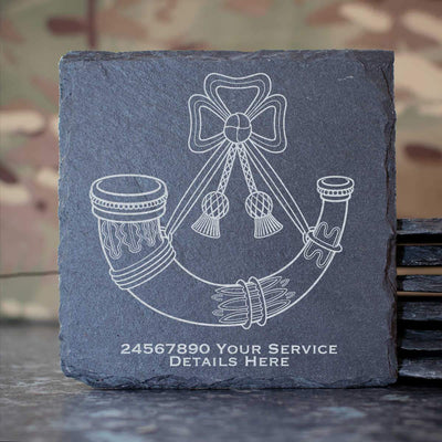 Light Infantry Slate Coaster