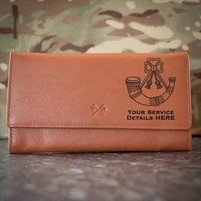 Light Infantry Leather Purse