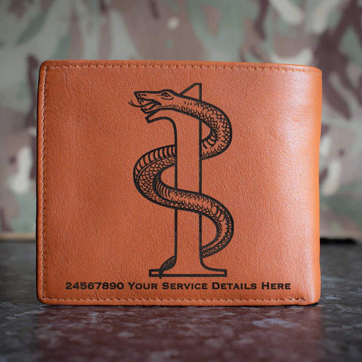 1 Medical Regiment Leather Wallet