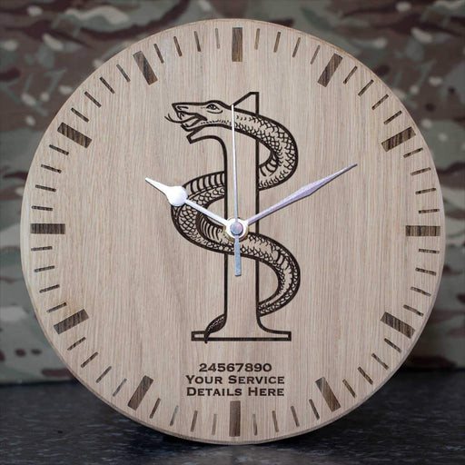 1 Medical Regiment Oak Clock