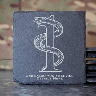 1 Medical Regiment Slate Coaster