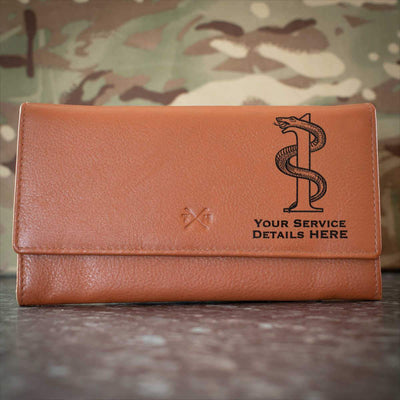 1 Medical Regiment Leather Purse