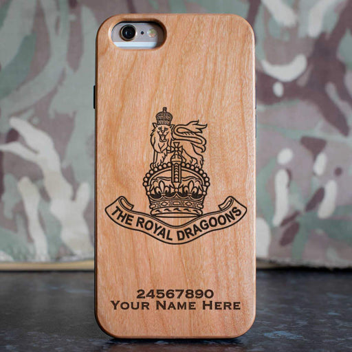 1st The Royal Dragoons (A) Phone Case