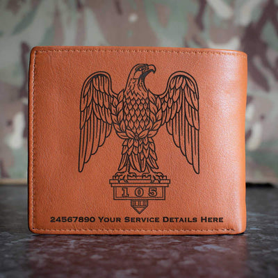 1st The Royal Dragoons Leather Wallet