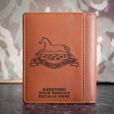 3rd Kings Own Hussars Credit Card Wallet