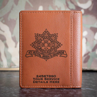 4th Royal Irish Dragoon Guards Credit Card Wallet