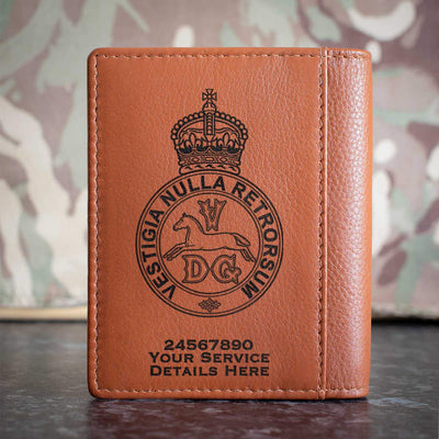 5th Regiment of Dragoons Credit Card Wallet