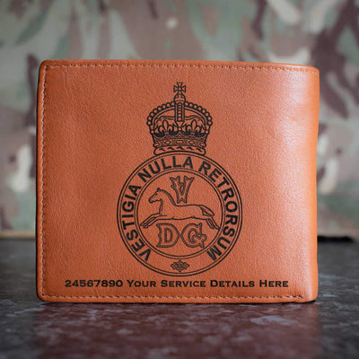 5th Regiment of Dragoons Leather Wallet