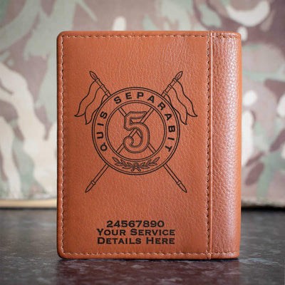 5th Royal Irish Lancers (Version A) Credit Card Wallet