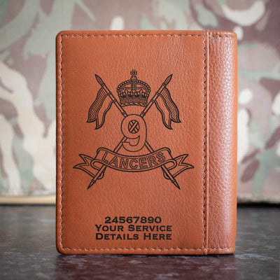 9th Queens Royal Lancers Credit Card Wallet