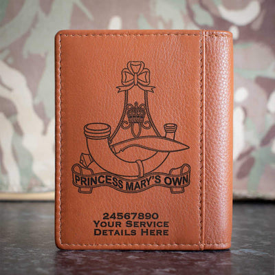 10th (PMO) Gurkha Rifles Credit Card Wallet