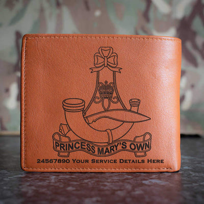 10th (PMO) Gurkha Rifles Leather Wallet