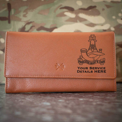 10th (PMO) Gurkha Rifles Leather Purse