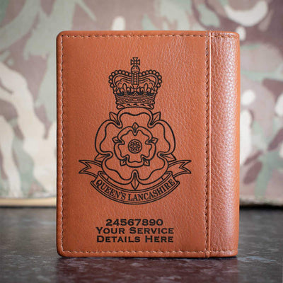 Queens Lancashire Regiment Credit Card Wallet